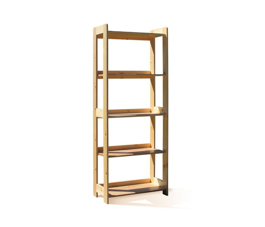 Кантри (Карелия) МС-5 стеллаж 1610 соснаТовары для дома<br>Выполняется из натурального дерева.&#13;ВНИМАНИЕ! Перед началом эксплуатации вне помещений, необходимо обработать деревянные части мебели специализированными защитными составами!&#13;]]&gt;<br><br>Длина мм: 630<br>Высота мм: 1610<br>Глубина мм: 330