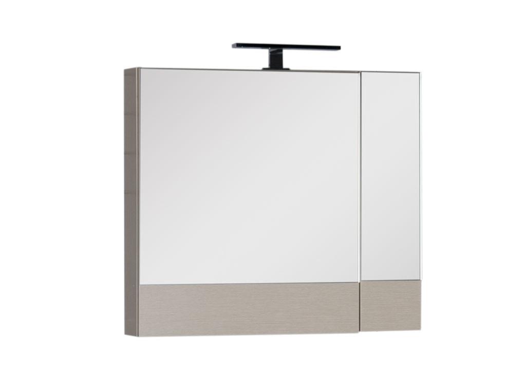 Зеркало Aquanet Нота 75Зеркало- шкаф для ванной<br><br><br>Длина мм: 0<br>Высота мм: 0<br>Глубина мм: 0<br>Цвет: Светлый дуб