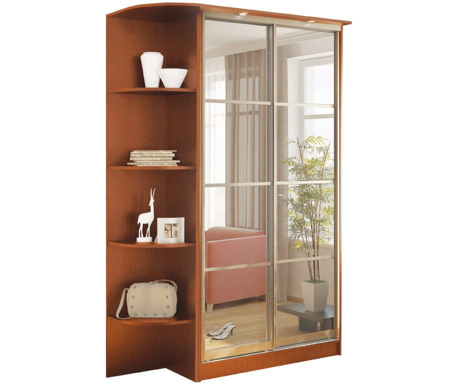 Шкаф 2-х дверный СБ-1085БП Яблоня + торц шкафШкафы<br>]]&gt;<br><br>Длина мм: 1664<br>Высота мм: 2420<br>Глубина мм: 544