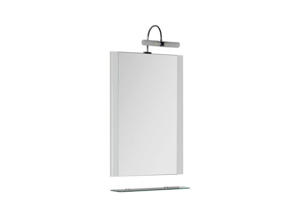 Зеркало Aquanet Асти 55 белыйЗеркало- шкаф для ванной<br><br><br>Длина мм: 0<br>Высота мм: 0<br>Глубина мм: 0<br>Цвет: Белый Глянец