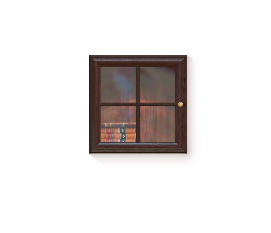 Гавана СВ-310 Полка-витринаПолки для гостиной<br><br><br>Длина мм: 600<br>Высота мм: 600<br>Глубина мм: 366
