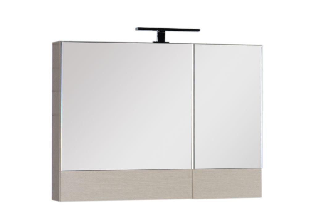 Зеркало Aquanet Нота 90Зеркало- шкаф для ванной<br><br><br>Длина мм: 0<br>Высота мм: 0<br>Глубина мм: 0<br>Цвет: Светлый дуб