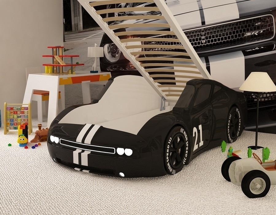 Кровать машина Челенджер без подъемного механизма МФ