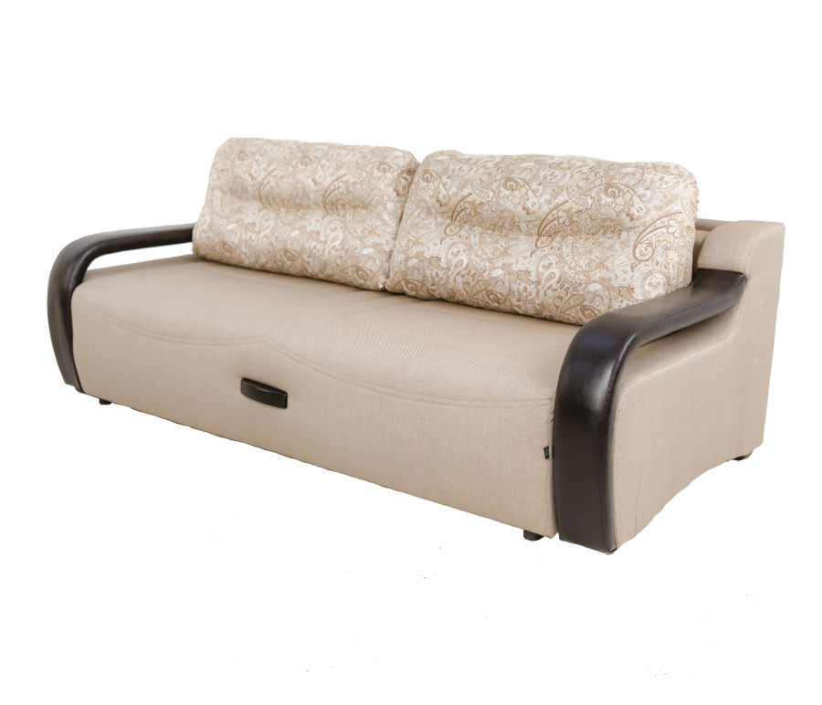 Диван Камп-НоуДиваны и кресла<br><br><br>Длина мм: 2310<br>Высота мм: 950<br>Глубина мм: 1080<br>Цвет: Коричневый / бежевый