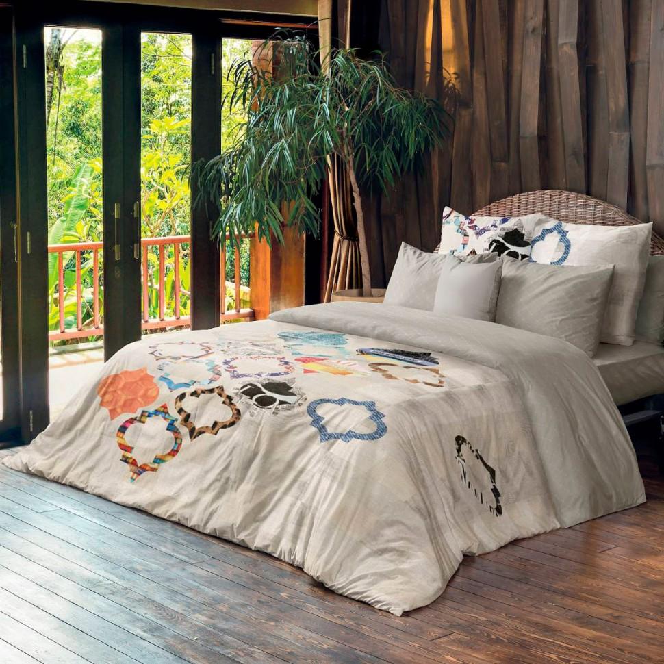Комплект постельного белья 1,5-спальный ранфорс