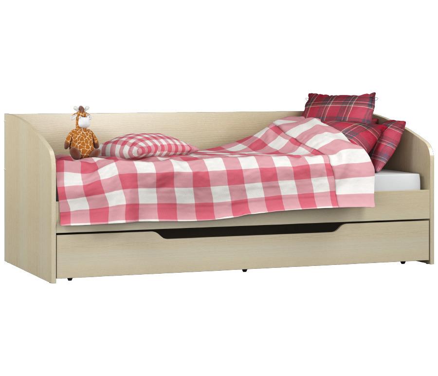 Маугли СБ-2076 КроватьДетские кровати от 3-х лет<br><br><br>Длина мм: 2056<br>Высота мм: 780<br>Глубина мм: 950<br>Материал: ЛДСП<br>Тип: Универсальные<br>Ширина спального места: 900<br>Длина спального места: 2000<br>Вид: Одноярусная<br>Основание для матраса: Есть