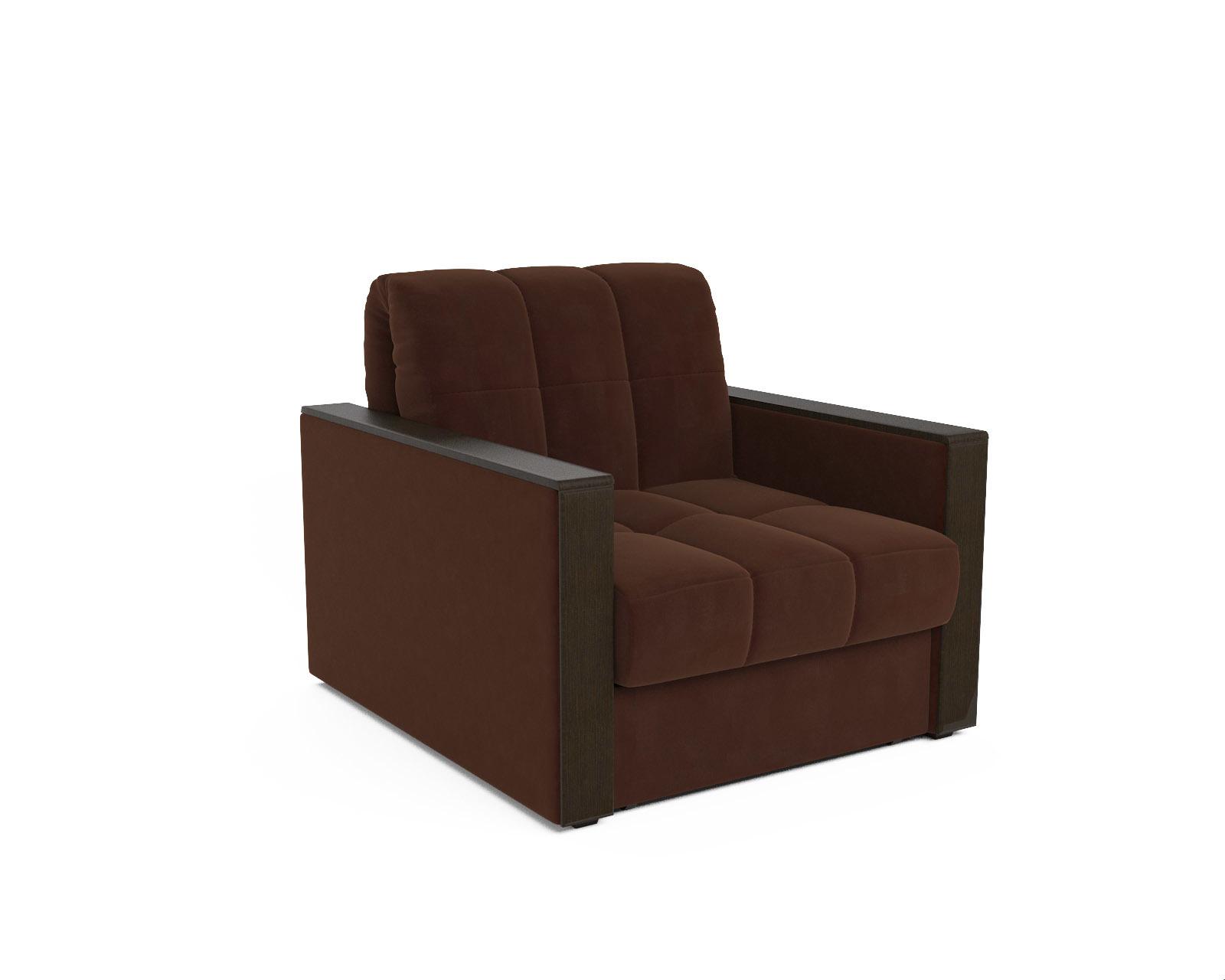 Кресло-кровать Даллас  (коричневый — Luna 092)