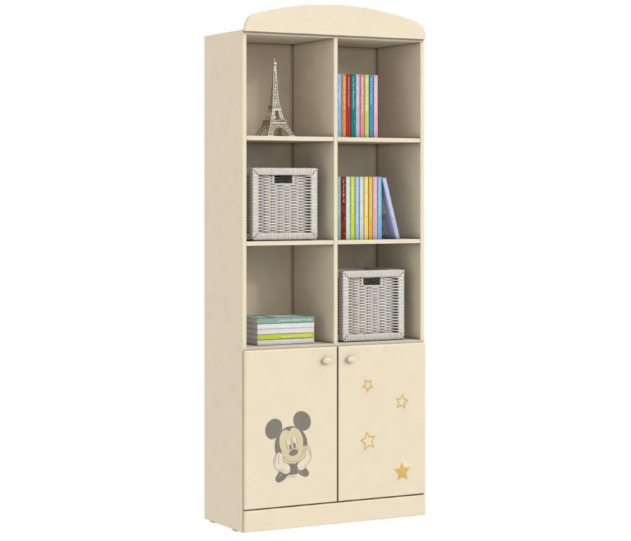 Денди Disney СБ-1408 СтеллажСтеллажи<br>Любимые герои Disney теперь на мебели  Столплит !&#13;Пастельные тона мебели и любимый с детства Микки Маус - отлично впишутся в интерьер комнаты как мальчиков, так и девочек.&#13;Выбор мебели для детской комнаты требует гораздо более серьезного подхода, чем все остальные комнаты, даже кухня. Следует учесть очень много моментов, но особое внимание нужно уделить тому, имеет ребенок достаточно места для хранения своих вещей и игрушек. Ведь наведение порядка в детской комнате это очень острый вопрос во многих семьях. Для того, что бы ребенок смог самостоятельно и без помощи взрослых навести порядок необходимы предметы мебели, куда бы он смог все убрать.Стеллаж Денди СБ-1408Nпоможет организовать пространство детской с максимальной функциональностью.<br><br>Длина мм: 780<br>Высота мм: 1988<br>Глубина мм: 349