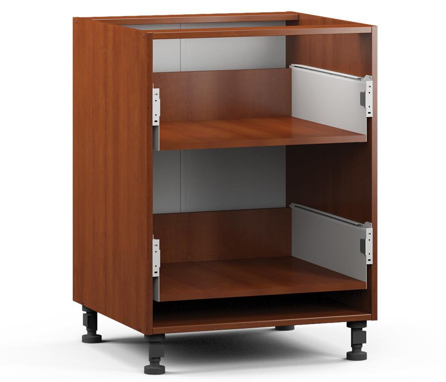 Регина РСЯ-60 Шкаф-Стол с 2-мя ящикамиМебель для кухни<br>Корпус для кухонного шкафа с двумя ящиками.<br><br>Длина мм: 600<br>Высота мм: 820<br>Глубина мм: 563