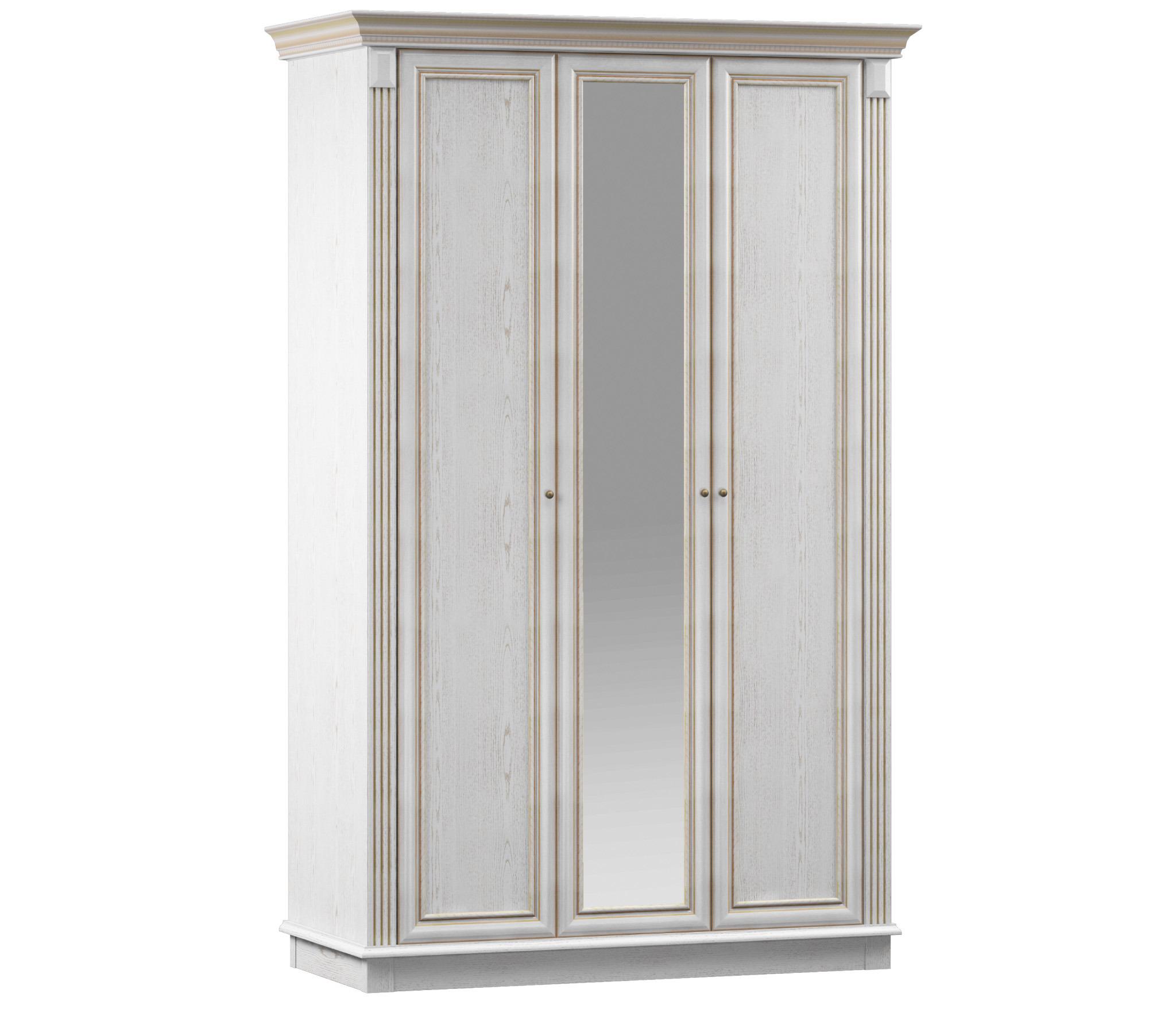 Версаль СБ-2318 Шкаф 3-х дверный с зеркаломШкафы для гостиной<br>