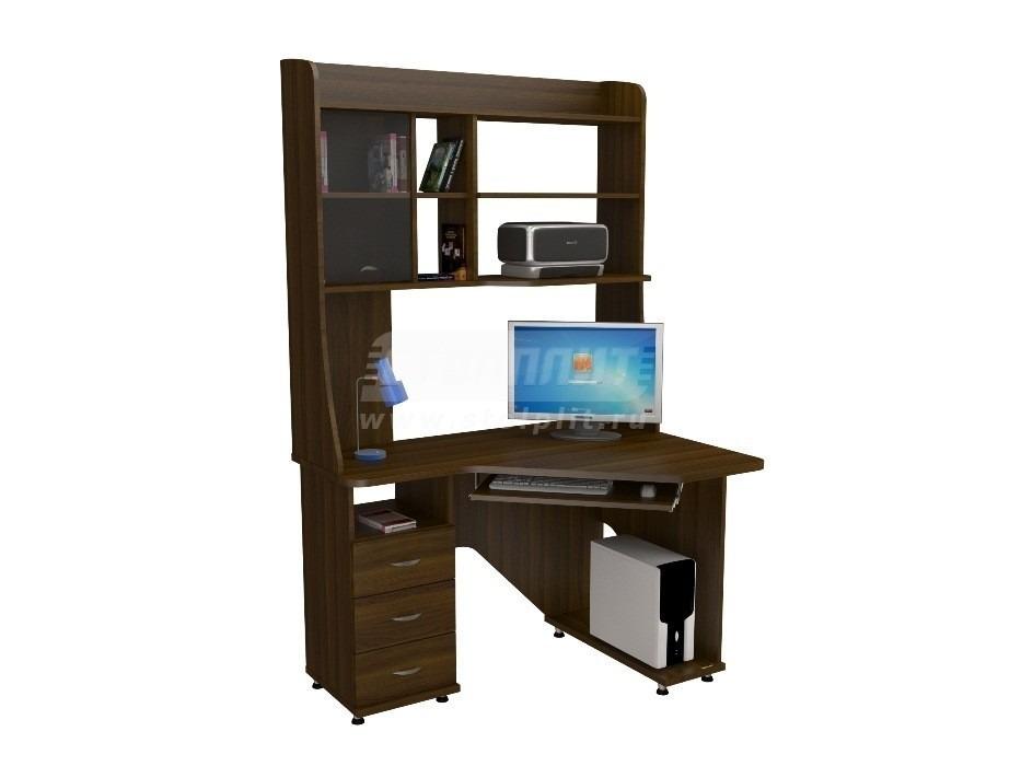 Стол компьютерный КС 2030м1Компьютерные столы<br><br><br>Длина мм: 1200<br>Высота мм: 1970<br>Глубина мм: 890