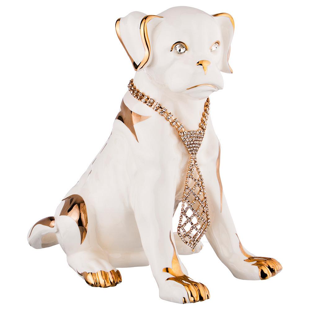 Статуэтка Собака с галстуком
