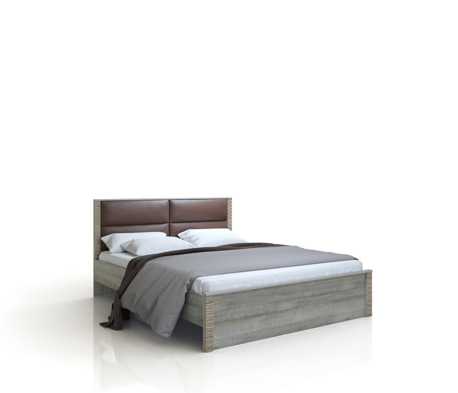 Тиффани СВ-510 кровать 1600Кровати<br><br><br>Длина мм: 1632<br>Высота мм: 951<br>Глубина мм: 2060<br>Цвет: Дуб аутентик