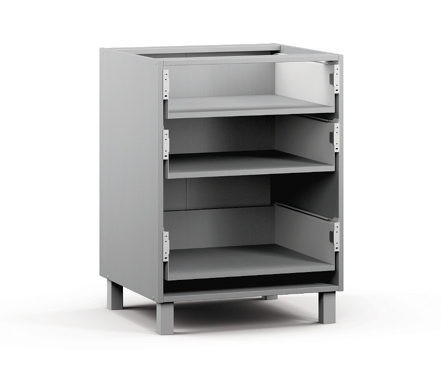 Анна АСЯ-360 Шкаф-Стол с ящикамиМебель для кухни<br>К данному изделию также необходимо дополнительно приобрести фасад: Анна Н-60.<br><br>Длина мм: 600<br>Высота мм: 820<br>Глубина мм: 563