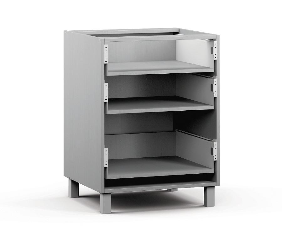 Анна АСЯ-360 Шкаф-Стол с ящикамиКухня<br><br><br>Длина мм: 600<br>Высота мм: 820<br>Глубина мм: 563