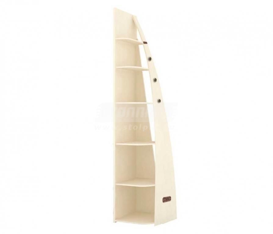 Купить Мебель для детских комнат Калипсо (для девочек) стеллаж окончание 509.030 в интернет магазине мебели СТОЛПЛИТ