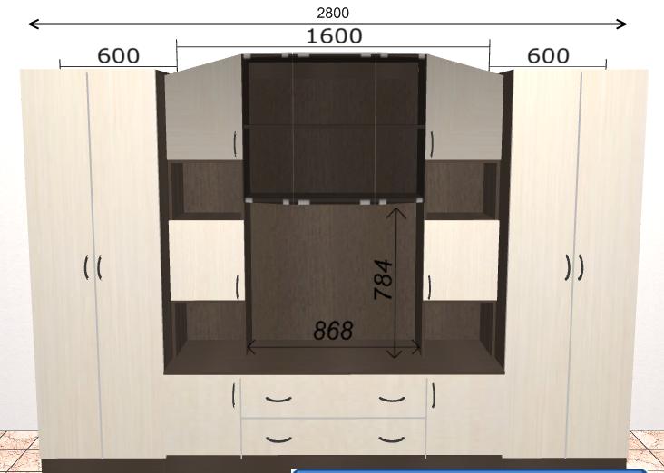 Инструкция по сборке стенки макарена