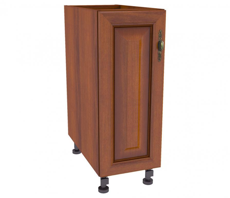 "Регина рс-25 шкаф-стол (орех ""мария луиза"" / вишня (патина).."