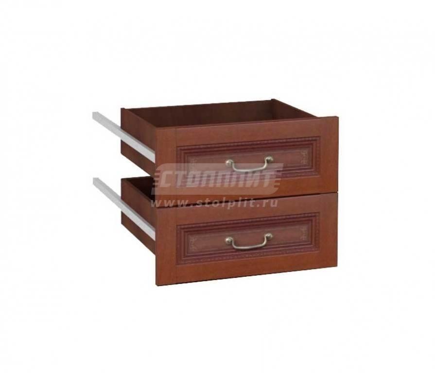 Купить Мебель для прихожей Валенсия Ящики к шкафу одностворчатому 440 633.520 в интернет магазине мебели СТОЛПЛИТ