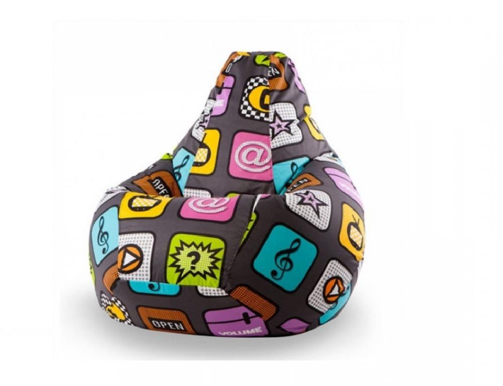 Купить Кресло-груша Смартфон Взрослый в интернет магазине мебели СТОЛПЛИТ