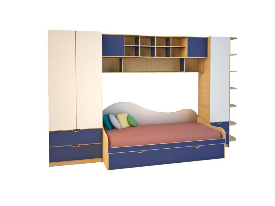 Купить Детская мебель Эльпа №4 в интернет магазине мебели СТОЛПЛИТ