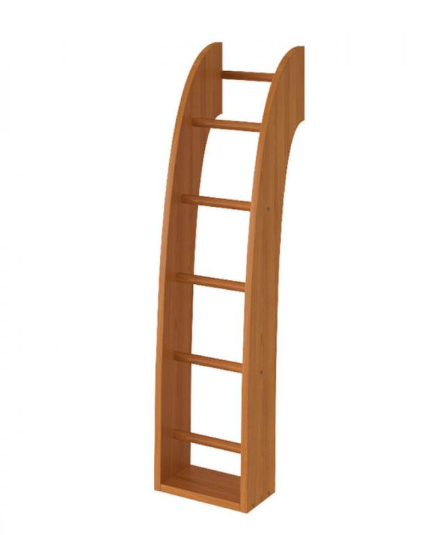 Купить Лестница деревянная для 2-х ярусных кроватей Флинт в интернет магазине мебели СТОЛПЛИТ