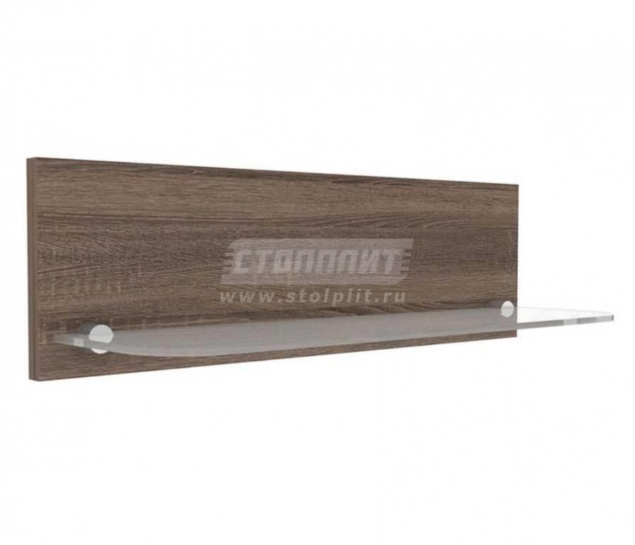 Купить Мебель для спальни Бруна стеклополка 631.100 в интернет магазине мебели СТОЛПЛИТ