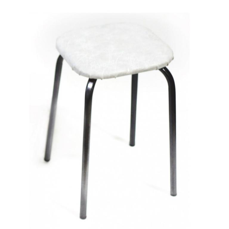 Купить Табурет (18*1) квадратный искра-хром в интернет магазине мебели СТОЛПЛИТ