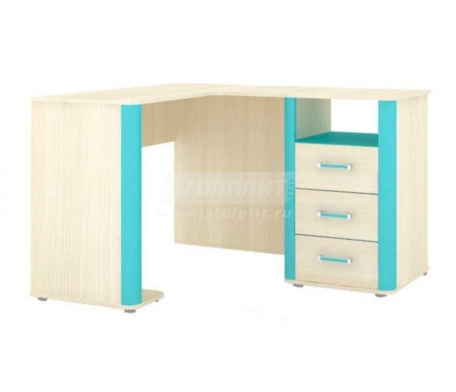 Купить Мебель для детских комнат Смайл стол угловой (левый) 508.100 в интернет магазине мебели СТОЛПЛИТ