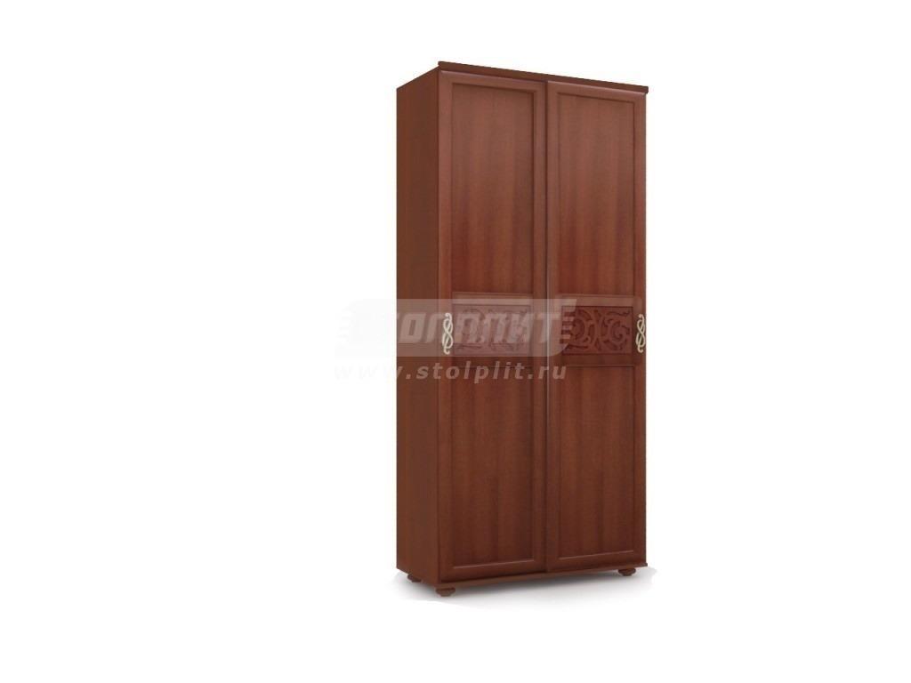 Купить Шкаф купе двухдверный Александрия в интернет магазине мебели СТОЛПЛИТ