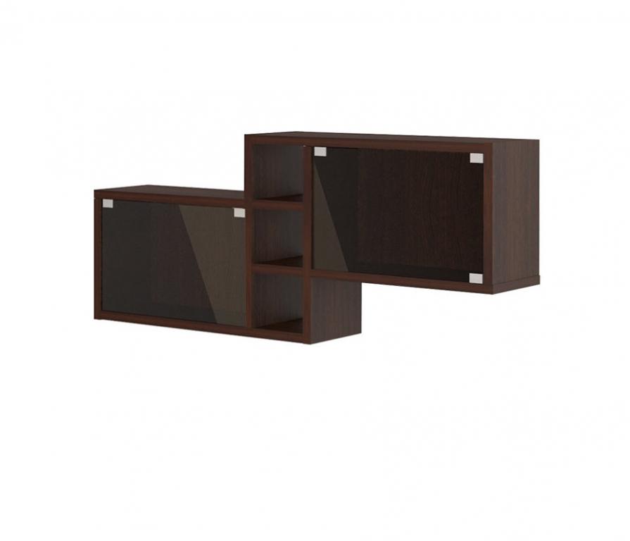 Купить Полка навесная ПК-20 (со стёклами) в интернет магазине мебели СТОЛПЛИТ