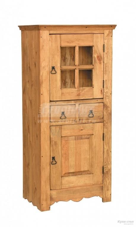 Купить Шкаф-витрина Дибаут в интернет магазине мебели СТОЛПЛИТ