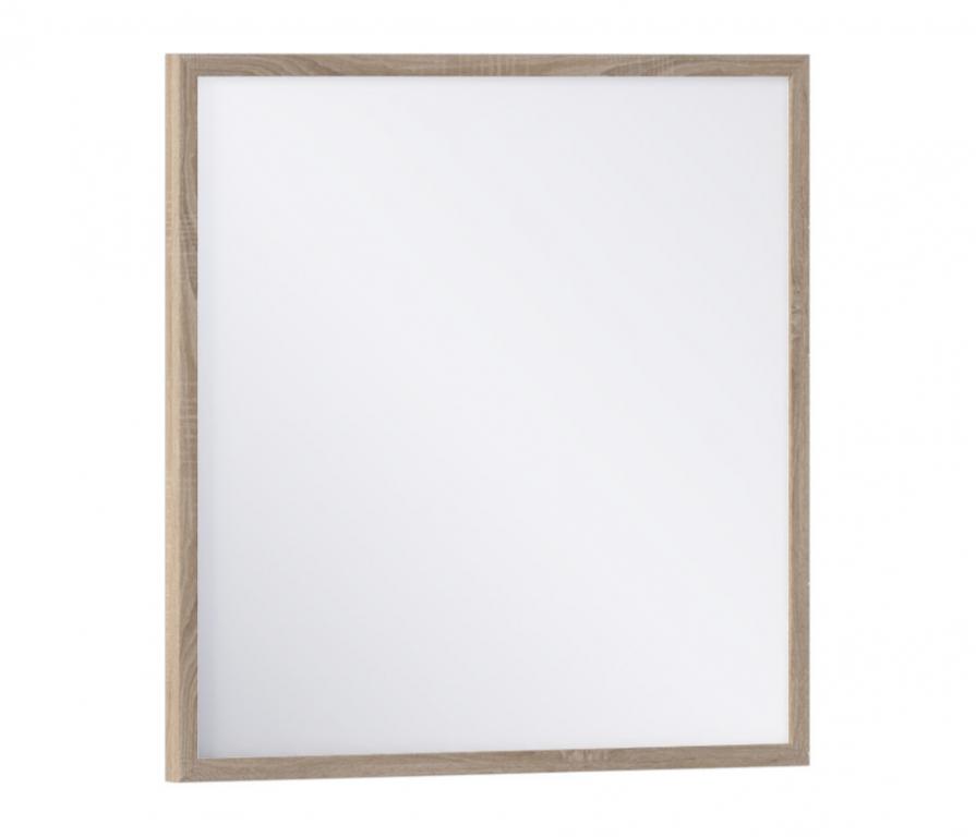 Купить Зара СБ-2575 Зеркало 700*700 Дуб Сонома в интернет магазине мебели СТОЛПЛИТ