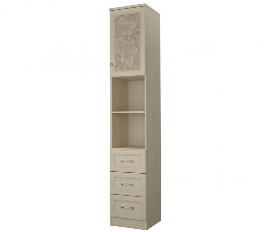 Купить Дженни СТЛ.127.21 Шкаф 1 дверный с 3-мя ящиками в интернет магазине мебели СТОЛПЛИТ