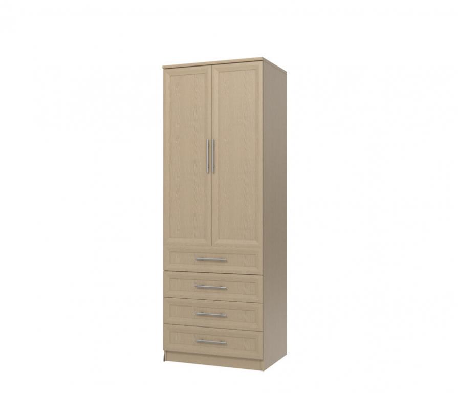Купить Юлианна СТЛ.004.01-01М Шкаф 2-х дверный с 4-мя ящиками в интернет магазине мебели СТОЛПЛИТ