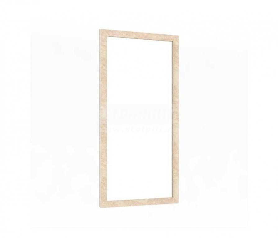 Купить Мебель для прихожей Александрия (Кожа Ленто) Зеркало настенное 125.140 в интернет магазине мебели СТОЛПЛИТ