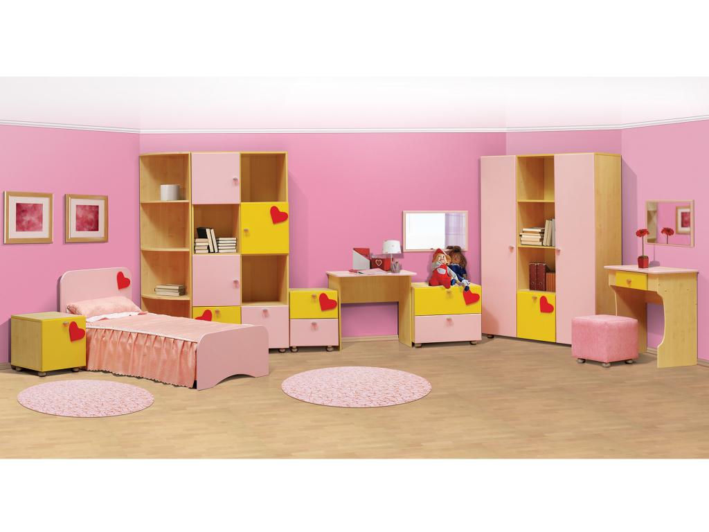 Купить Спальный гарнитур Валентинка в интернет магазине мебели СТОЛПЛИТ