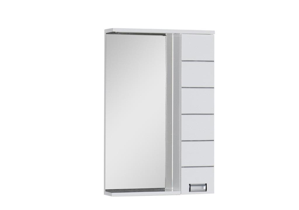 Купить Зеркало Aquanet Доминика 55 LED белый в интернет магазине мебели СТОЛПЛИТ