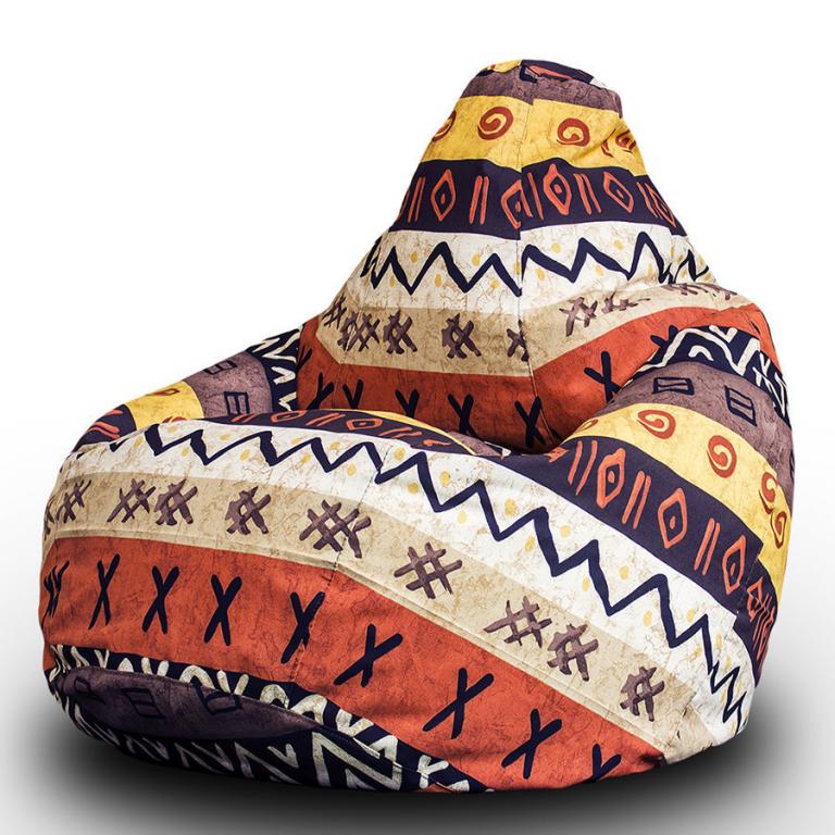 Купить Кресло-мешок Жаккард L (категория 1) в интернет магазине мебели СТОЛПЛИТ