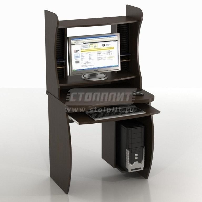Купить Компьютерный стол КС-6 Бекас с надстройкой КН-6ст в интернет магазине мебели СТОЛПЛИТ