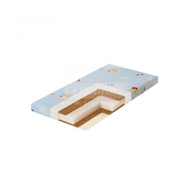 Купить Матрас детский Юниор-плюс 1190х600х120 мм. (Плитекс-С) в интернет магазине мебели СТОЛПЛИТ
