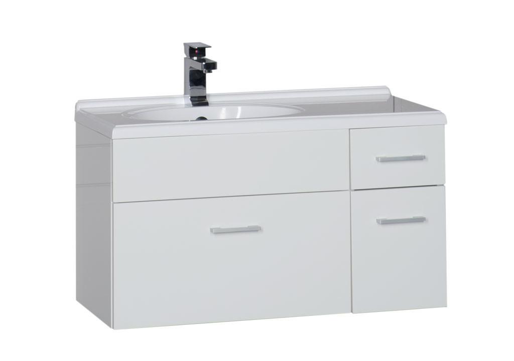 Купить Тумба Aquanet  Данте 85 белый в интернет магазине мебели СТОЛПЛИТ