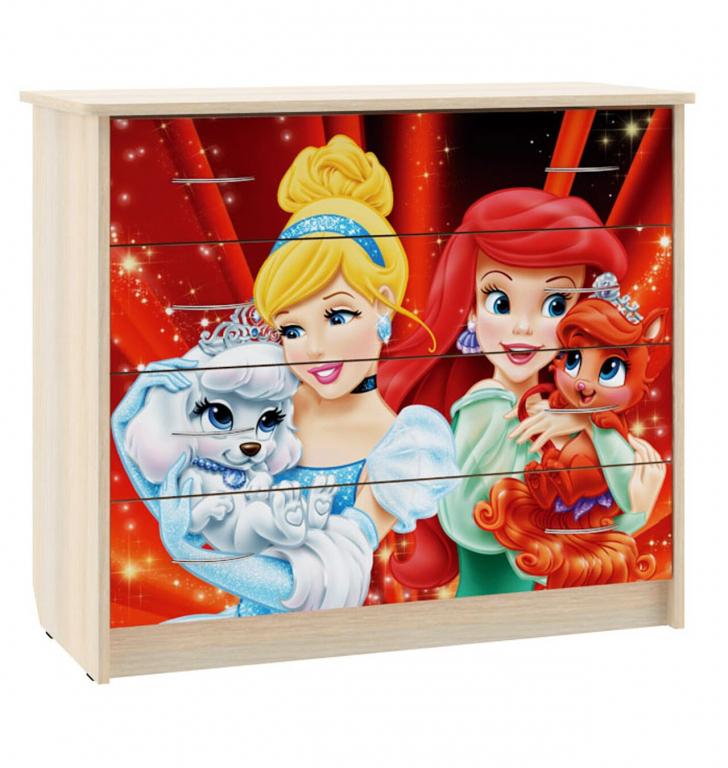 Купить Комод для детской Принцесса в интернет магазине мебели СТОЛПЛИТ
