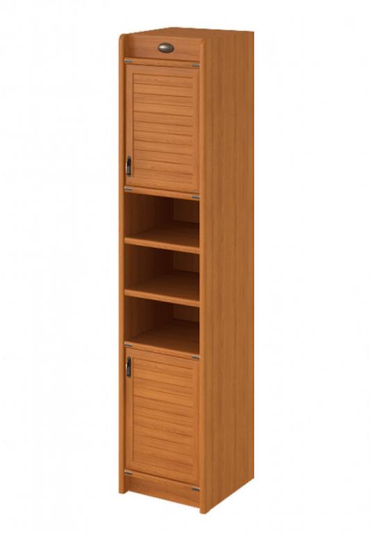 Купить Шкаф узкий, книжный двухдверный в интернет магазине мебели СТОЛПЛИТ
