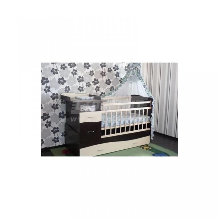 Купить Кровать-трансформер Чунга-Чанга венге-ваниль в интернет магазине мебели СТОЛПЛИТ