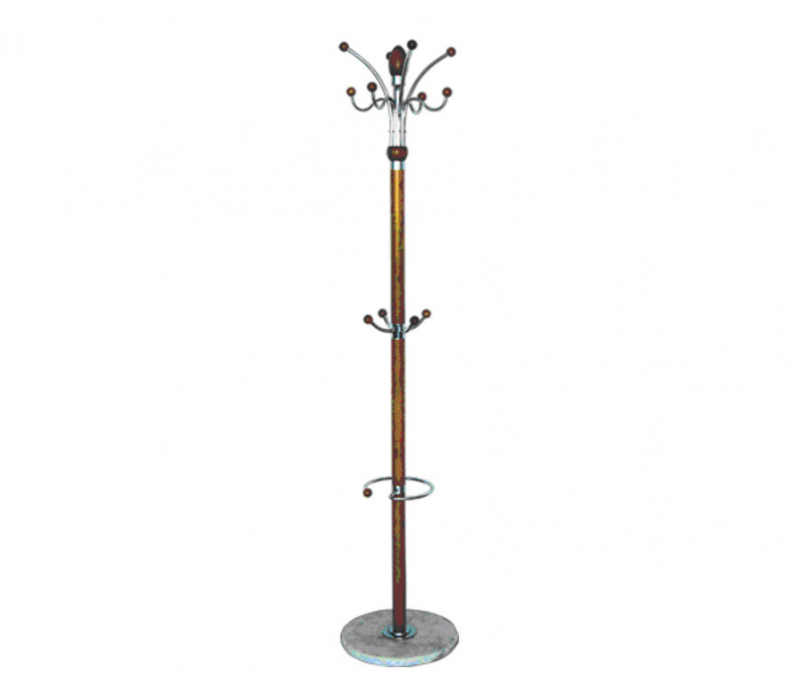 Купить Вешалка BDGM-55 хром бук в интернет магазине мебели СТОЛПЛИТ