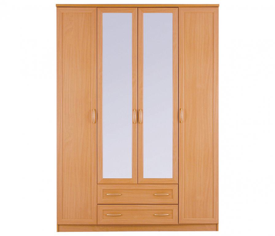 Купить Симба СР-36 Шкаф 4-х дверный с зеркалом в интернет магазине мебели СТОЛПЛИТ