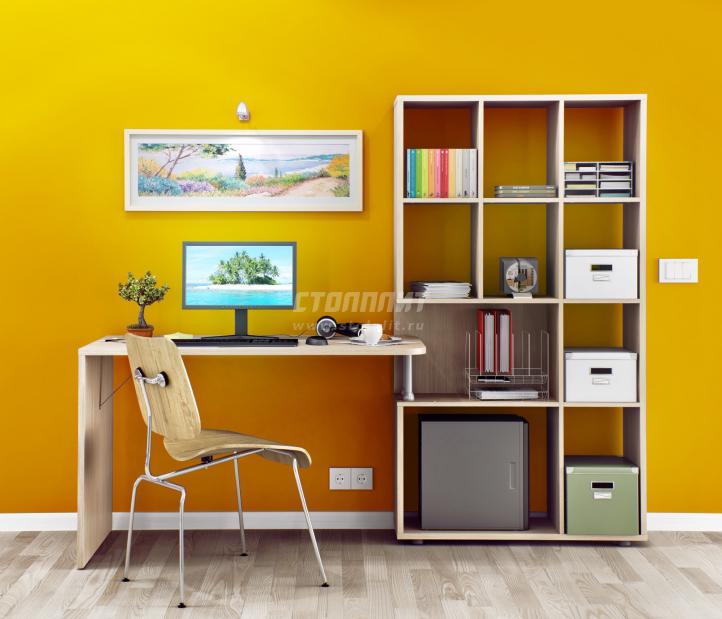 Техно СБ-2303 Стеллаж со столом купить со скидкой 50 % в интернет магазине с доставкой в Ставрополь и край и сборкой