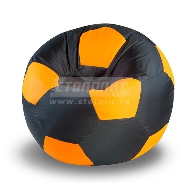 Купить Кресло-мяч Black-Orange в интернет магазине мебели СТОЛПЛИТ