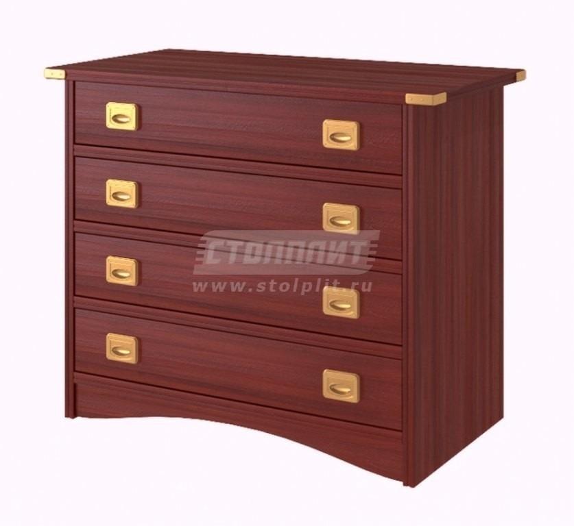 Купить Комод 4 ящика в интернет магазине мебели СТОЛПЛИТ